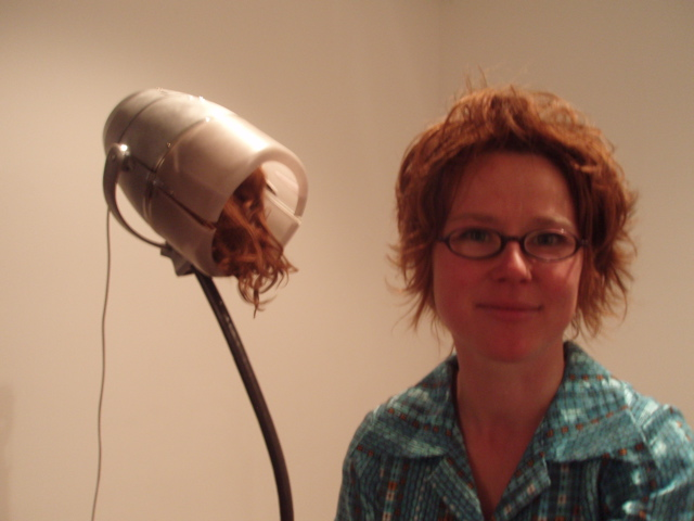 Heike Qualitz (hair raising)