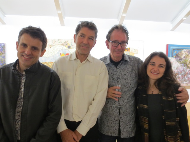 Antony Moulis, Bruce Reynolds, David Broker and Sylvia