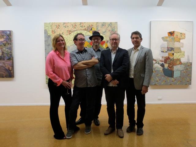 Virginia Rigney, David Broker, Roger Benjamin, Jonathan Nichols and Bruce Reynolds