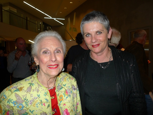 Lady Marigold Potter and Judy Williams