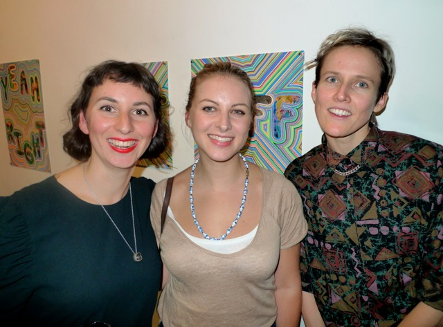 Laura Castagnini, Laura Delaney and Liz Dunn