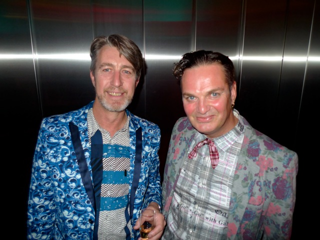 Peter Curnow and Gavin Brown