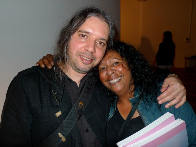 Simon Rose and Maree Clarke