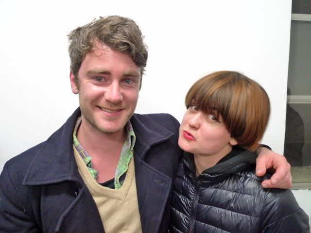 Jake Wotherspoon and Cathy Tipping