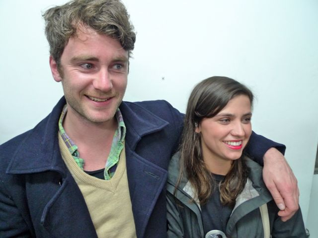 Jake Wotherspoon and Esther Stewart