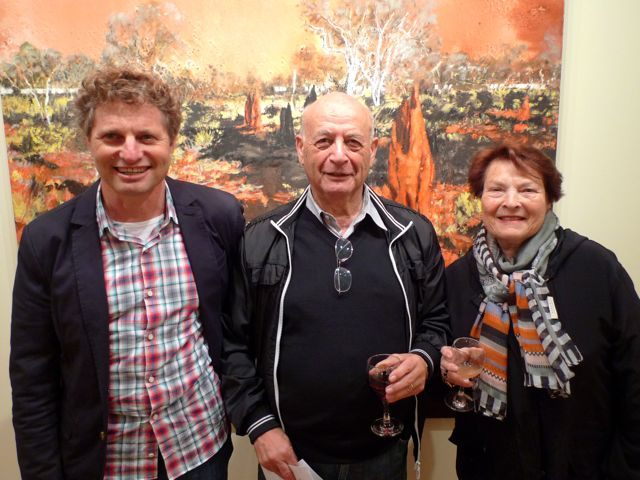 Guy Abrahams, Tom and Sylvia Lowenstein