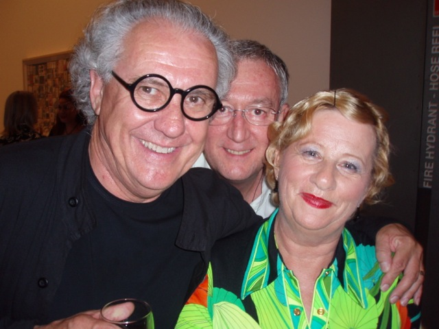 Ted Snell, Steven and Pam APT opening GOMA Brisbane 2008