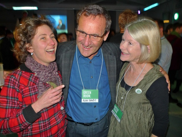 Kylie and Alan and Moira Bandt