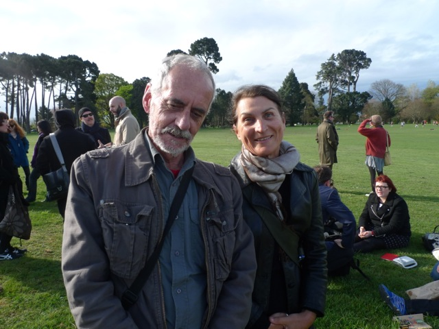 John Armstrong and Linda Carroli