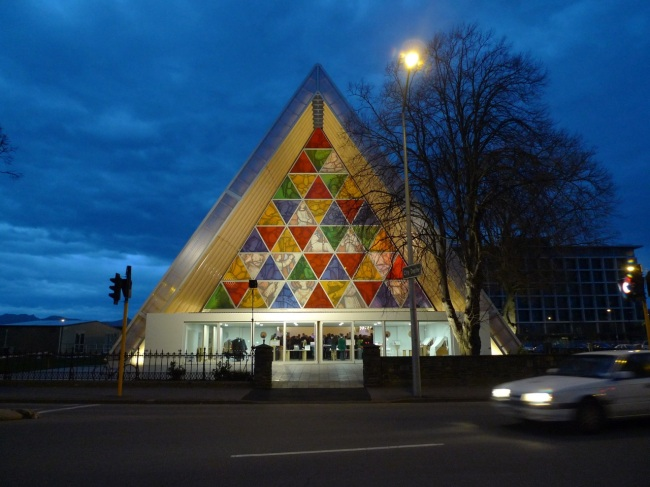 The Transitional Cathedral a.k.a Cardboard Cathedral