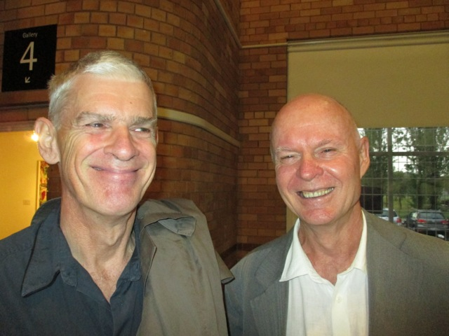 John Loane and Trigger-happy curator Michael Desmond