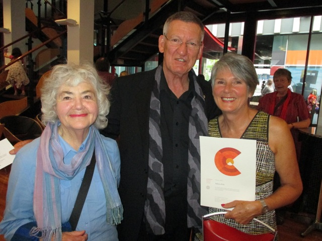 Margaret and David Williams and Valerie Kirk (Award for the big Centenary Tapestry)