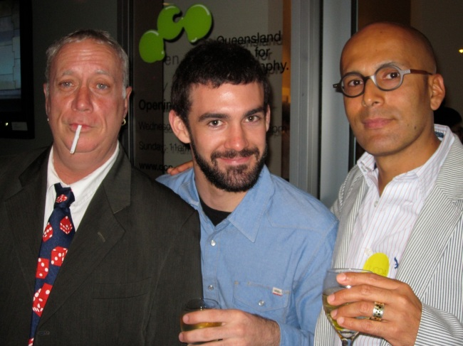 Ray Cook, Liam O'Brien and Maurice Ortega