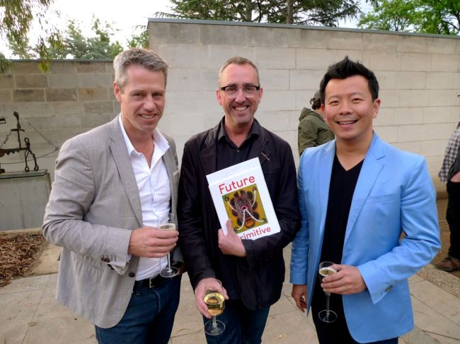 Simon Hayman, Jason Smith and Terry Wu