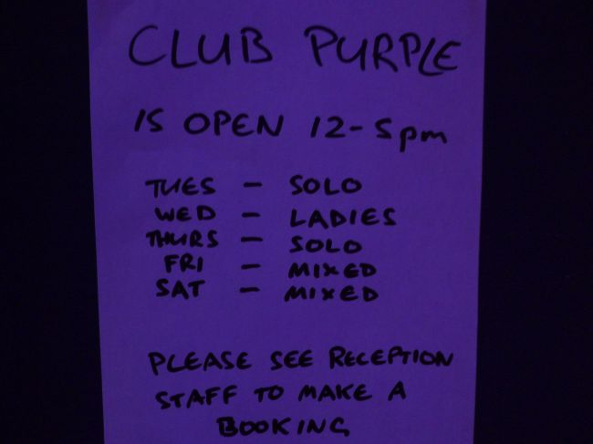 Club Purple Opening Hours