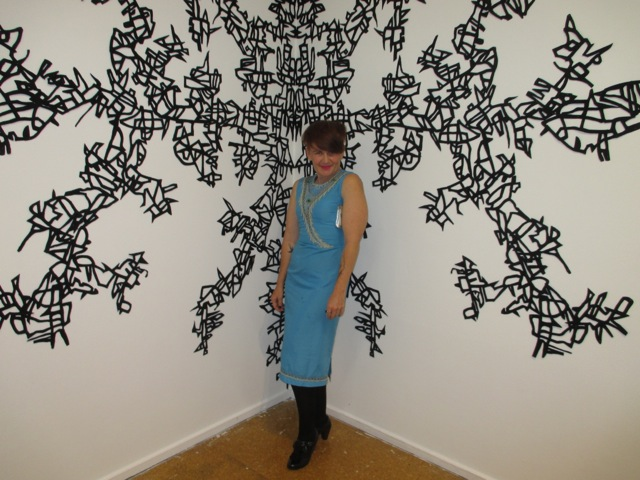 Shellaine Godbold with work by S.A Adair