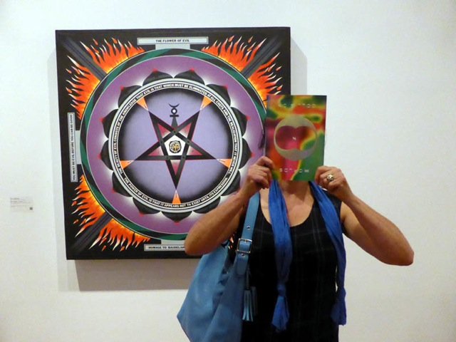 Naomi Cass with work by Paul Laffoley