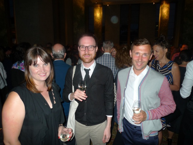 Aileen Burns, Matthew Hyland and Johan Lundh