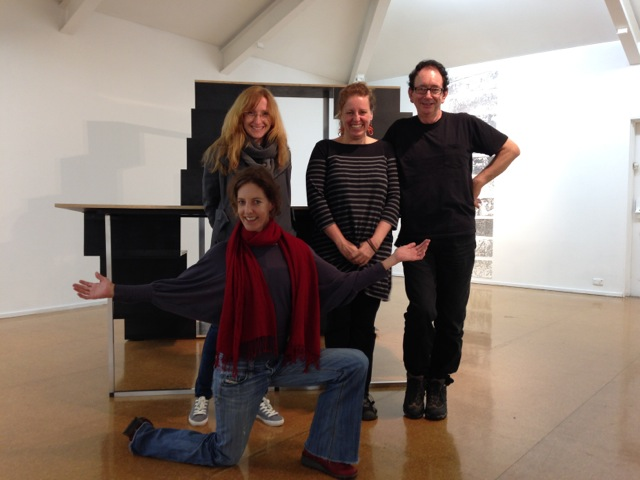 Samantha Small, Agnieszka, Erica Seccombe and David Broker