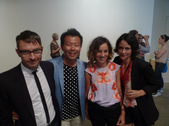 Mark Feary, Terry Wu, Michelle Newton