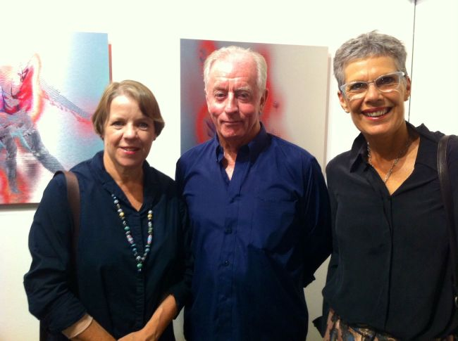 Susie Beaver, Robert Boynes and Gill Taylor