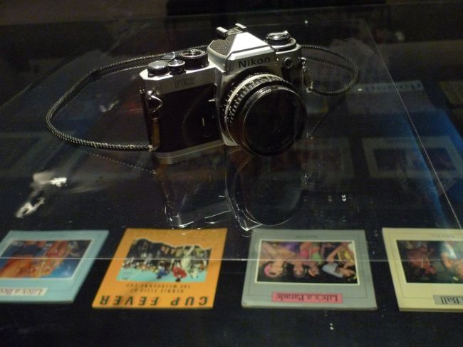 Rennie's camera and books of his work