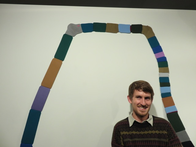Chris Carmody with work by Fiona Veikkanen