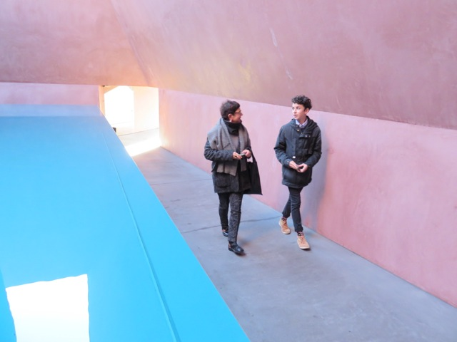Debra Porch and Michael 'Within without' 2010 James Turrell NGA