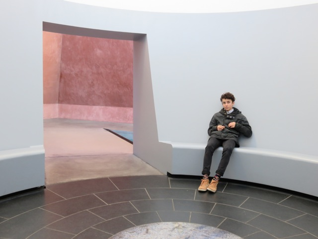 Michael at by James Turrell