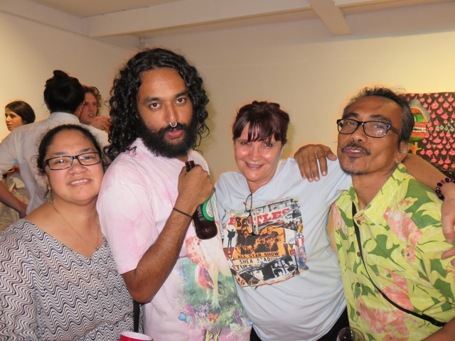Tina, Ramesh, Tess and Ruben