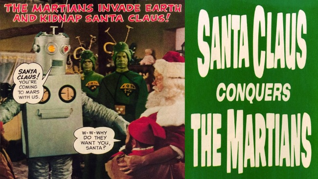 Santa Claus Conguers the Martians Wallpaper