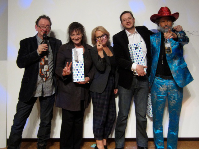 David Broker, Sylvie Stern, Karen Klein, Andrew Klein (Chair) and Rennie Kodgers at Bone Idol CCAS 2012