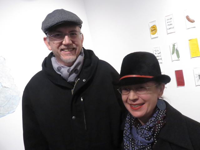 Peter and Susan with slendis hats